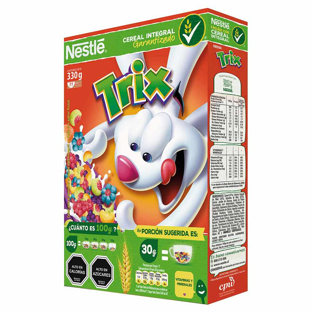 Cereal – Nestle TRIX – My Missionary Packages Argentina